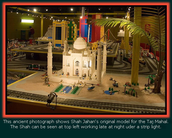 An Early Model Of The Taj Mahal